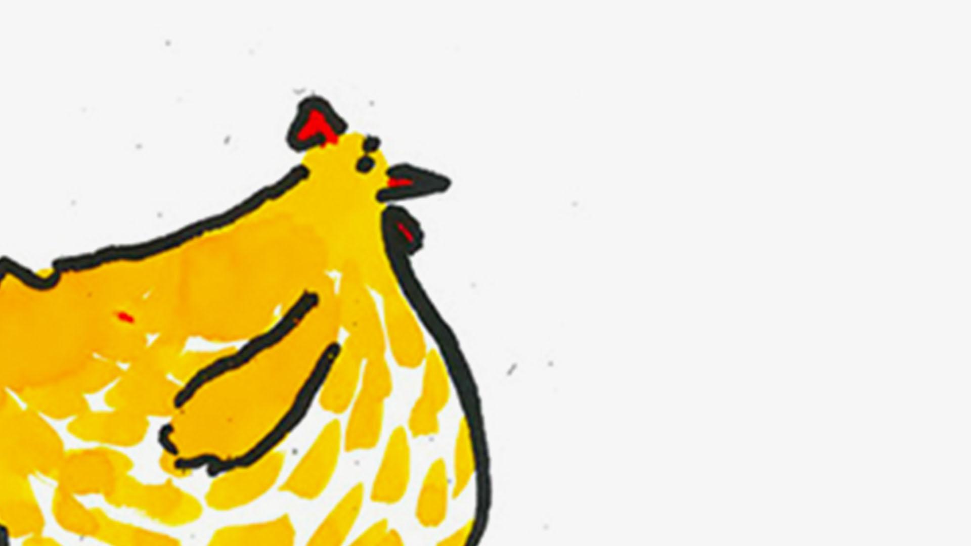Bye bye poulette !